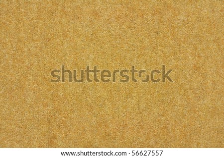 flat shot showing front pile of beige carpet - stock photo