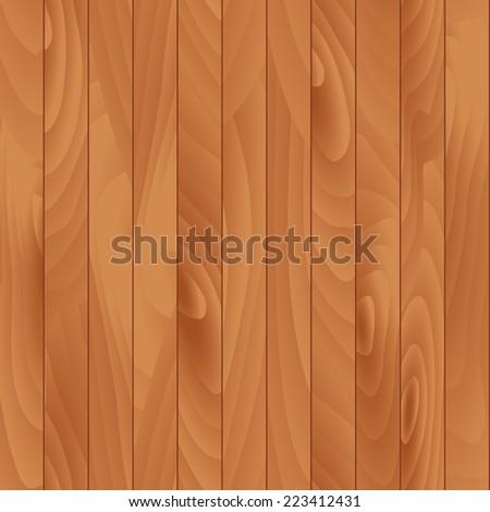 Flat Wood Texture  Seamless Illustration - stock photo