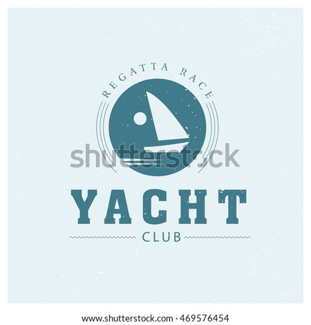 Flat yacht club regatta logo design stock illustration 469576454 flat yacht club regatta logo design sailing boat ship icon silhouette toneelgroepblik Image collections
