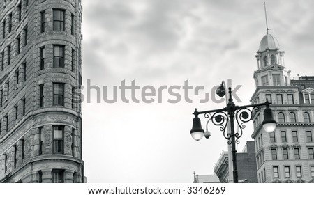 Flatiron building, Broadway and 23rd street, Manhattan,ny