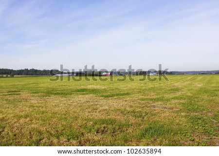 Flatland in British Columbia's southern coast/Farm Acreage in the Fraser Valley/Farm communities in the Fraser Valley