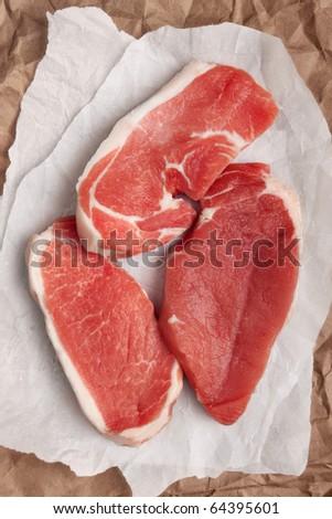 Flesh - stock photo