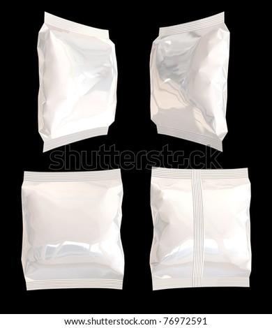 flexible bags - stock photo