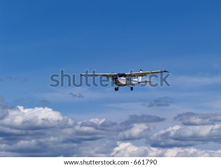 Flight - stock photo