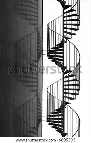 Flight of steps - stock photo