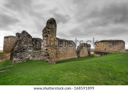 Flint Castle, Wales, UK - stock photo
