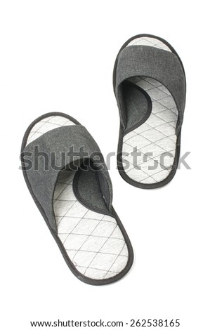 Flip flop slippers isolated - stock photo