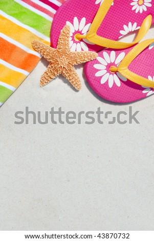 Flip Flops - stock photo