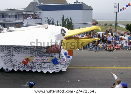 Ocean Beach Fire Island July Th Parade