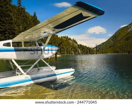Float plan - stock photo