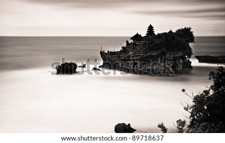 Floating Temple - stock photo
