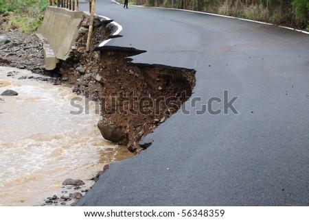 flood - stock photo