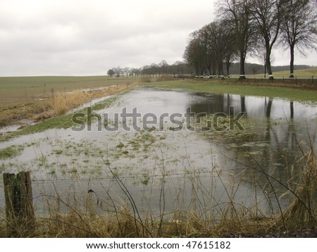 flood - high water - stock photo