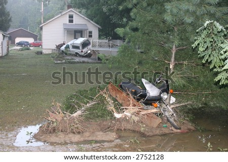 FLOOD JULY '06 - stock photo