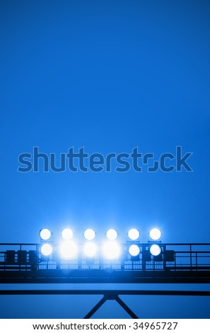 Floodlight - stock photo