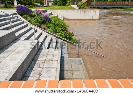 Floods in the city