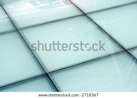 Floor mosaic background - stock photo