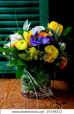 Floral  Arrangement - stock photo