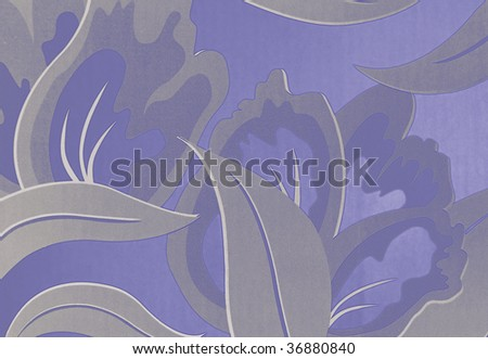 Floral Background - stock photo