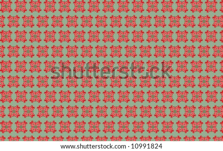 Floral background. Beautiful illustration - stock photo