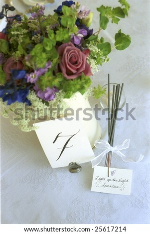 Floral Centerpiece - stock photo