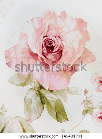 floral design hand-made - stock photo