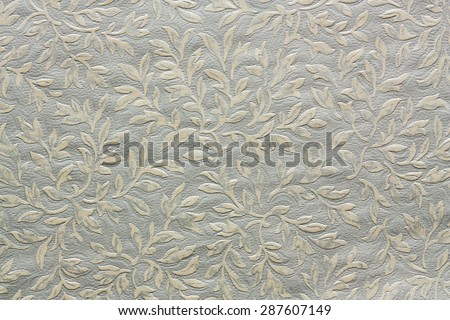 floral ornament textile pattern