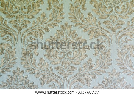 Floral seamless background, Thailand. - stock photo