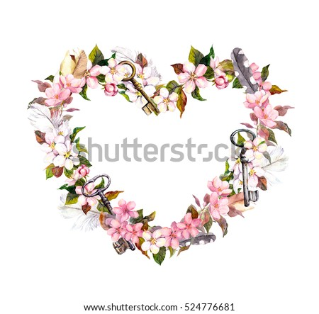 hearts and flowers stock images, royaltyfree images  vectors, Beautiful flower