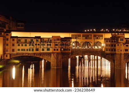 Florence by night - Tuscany - Italy