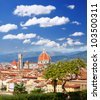 Florence cathedral in Tuscany, Italy - stock photo