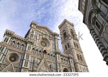 Florence Cathedral, Italy, bell tower