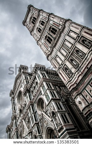 Florence dome - stock photo
