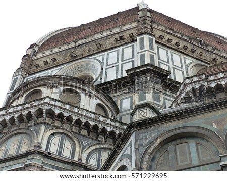 Florence / Duomo / picture showing the Duomo cathedral in Florence, taken in April 2015.