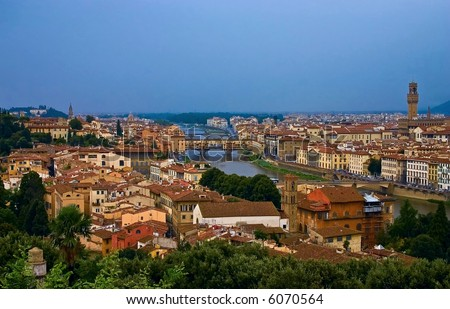 Florence (Italian: Firenze) is the capital city of the region of Tuscany, Italy.