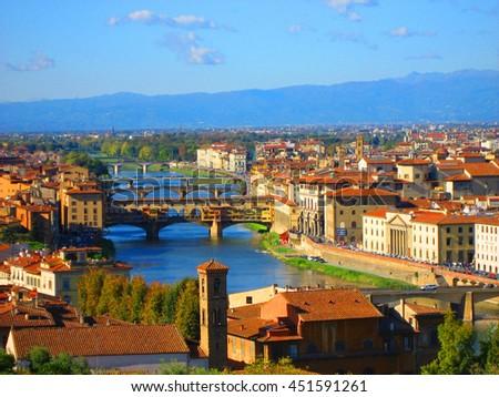 Florence, Italy 2009 - stock photo
