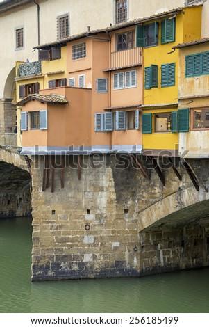 Florence Ponte Vecchio - stock photo