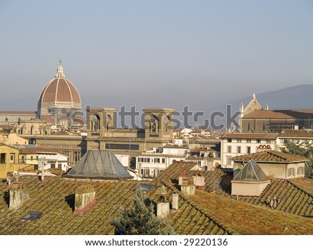 Florence view, Italy