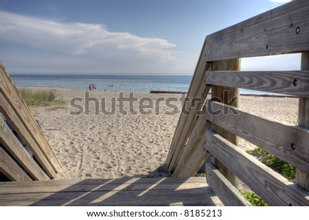 Florida beaches are the perfect getaway - stock photo