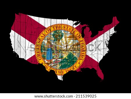 Old Florida Map Stock Photos Images Amp Pictures