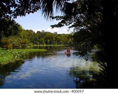 Florida Spring - stock photo
