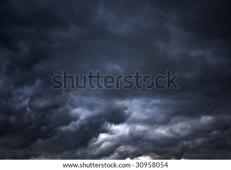 Florida Storm Clouds - stock photo