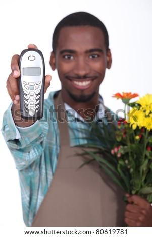 Florist - stock photo