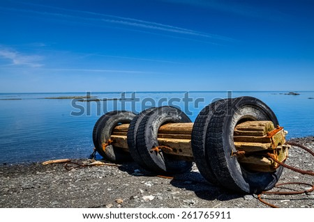 Flotsam - stock photo