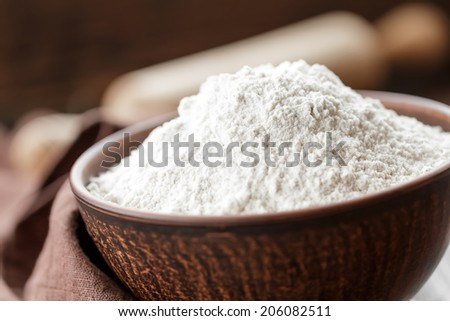 Flour - stock photo