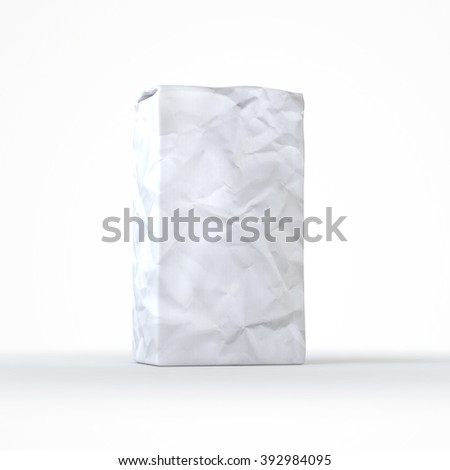Flour and sugar package mock up