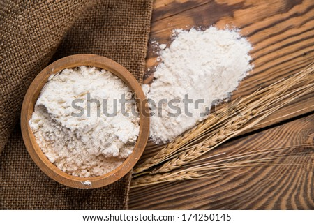 flour from durum wheat