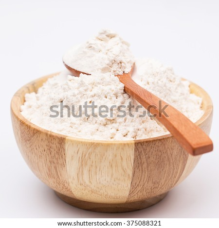 Flour rice powder.