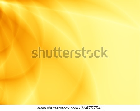 Flow unusual illustration abstract yellow background - stock photo