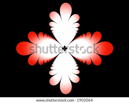 flower abstract - stock photo